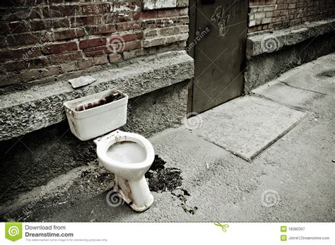dirty bathroom dream old dirty toilet royalty free stock photography image