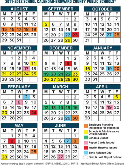 Broward School Calendar Broward School Calendar 2014 Calendar Template 2016