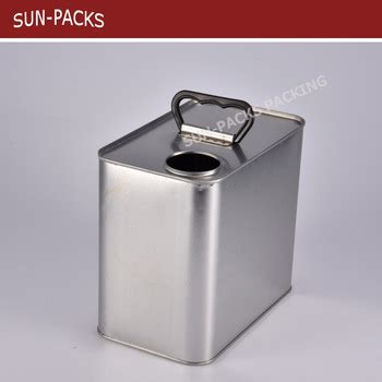 paint can chemical oil can 2.5l 4l 5l rectangular square