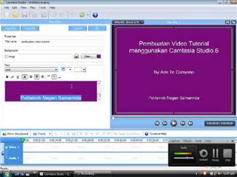 cara membuat video tutorial dengan camstudio cara membuat video tutorial dengan camtasia youtube