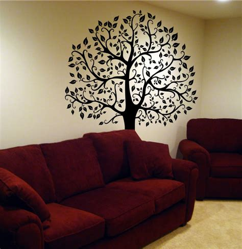 tree sticker wall decal decals by digiflare wall decal tree branch birds leaves sticker mural