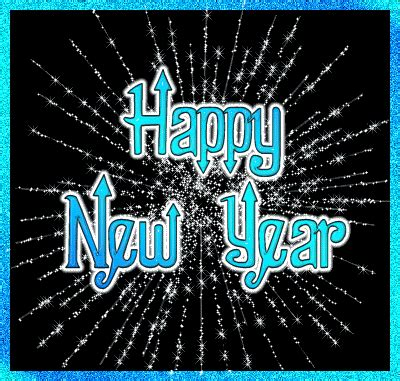 new year glitter graphics happy new year blue glitter animated graphic