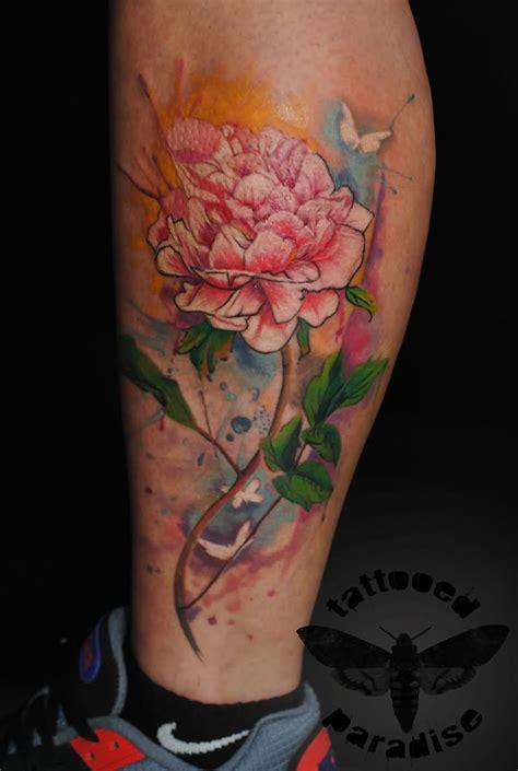 peony tattoo 21 realistic peony tattoos