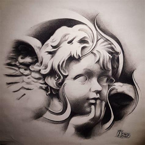 tattoo flash of angels 25 best ideas about cherub tattoo on pinterest artist