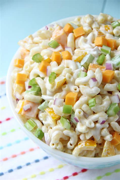 creamy macaroni salad creamy cheddar macaroni salad a pretty life in the suburbs