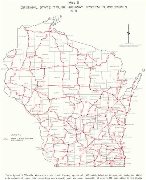 road map wisconsin wisconsin highway 23