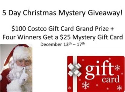 How Much Are Disney Gift Cards At Costco - 100 costco gift card more mystery giveaway 5 winners ends 12 17 powered by mom