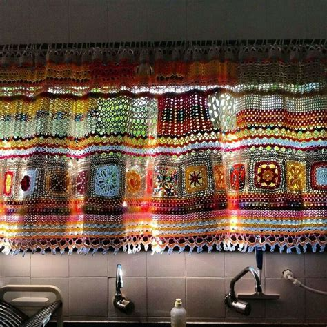 1000 images about crochet curtains on hooks