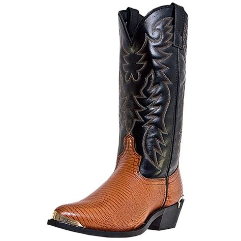 mens laredo boots laredo western boots mens cowboy atlanta lizard antique