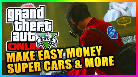 Best Ways To Make Money In Gta 5 Online - gta 5 online qna best ways to make money super cars heists more gta v