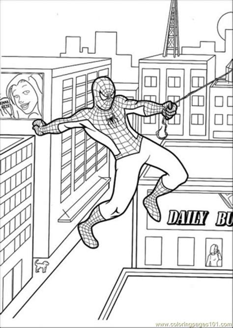 spiderman coloring pages pdf spiderman coloring pages pdf coloring home