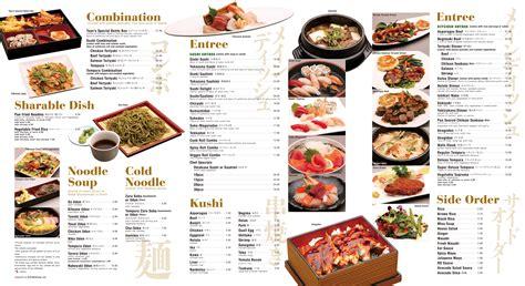 menu design for japanese restaurant kmy online portfolio japanese restaurant menu design