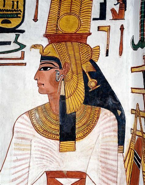 imagenes reinas egipcias la tumba de la reina nefertari ma s