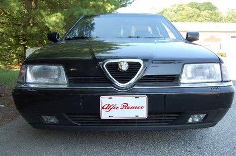 Alfa Romeo 164 Ls by Purchase Used 1995 Alfa Romeo 164 Ls Black Black Only