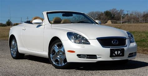 lexus convertible 2008 2008 lexus sc 430 convertible what i do my day gig