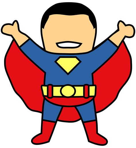 clipart photo superman clip black and white images