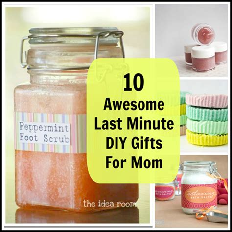 Handmade Gifts For Mothers Birthday - 10 awesome last minute diy gifts for babble
