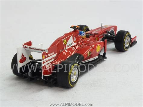 Hotwheels F138 wheels f138 2013 fernando alonso 1 43 scale model