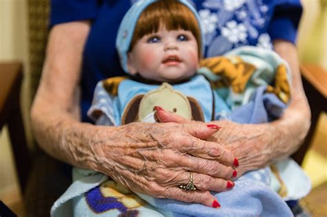 when pretend play is real for alzheimer s patients