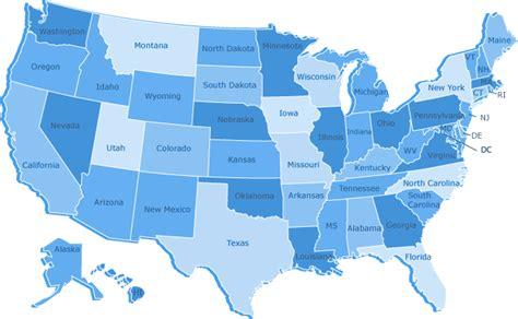 america map blue nevada state immunization program free programs