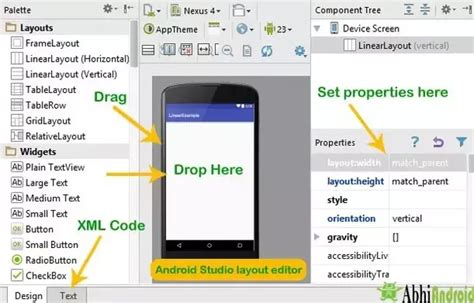 android layout how to design android ui components and use it in android studio quora