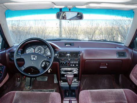 1990 Honda Accord Interior 1990 honda accord pictures cargurus