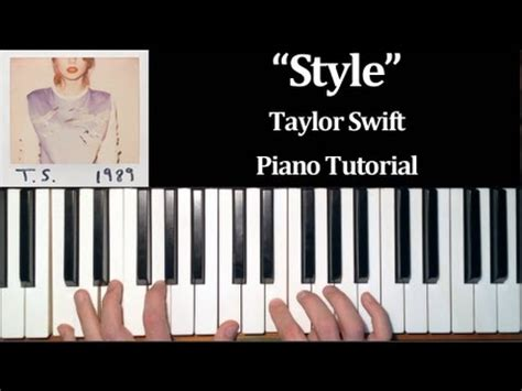 Tutorial Piano Taylor Swift | taylor swift style how to play piano tutorial youtube