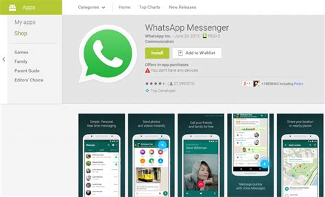 Play Store Whatsapp Whatsapp For Android Always It From Play