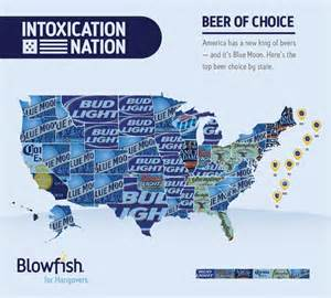New York Breweries Map by Map America S Favorite Beers By State