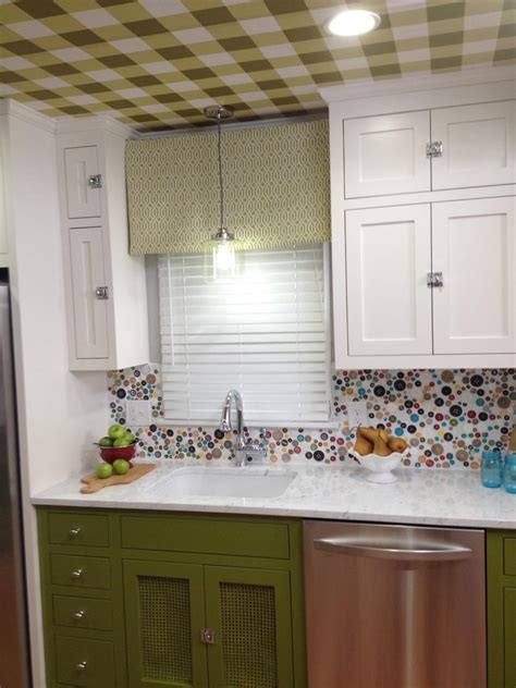 creative kitchen backsplash 15 creative kitchen backsplash ideas hgtv