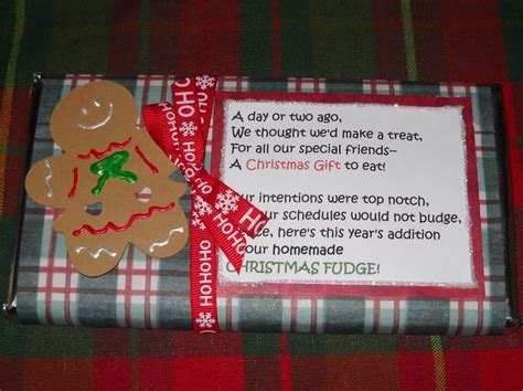 candy gifts with cute sayings christmas just b cause