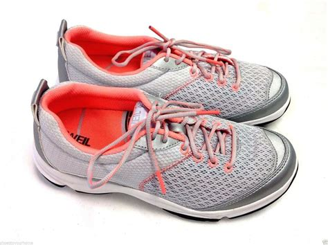 orthaheel rhythm lace up sneakers w arch support floor ebay