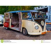 Old Classic Volkswagen T1 Van Editorial Stock Image