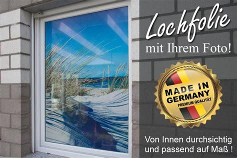 Fenster Sichtschutz Mit Logo by Sichtschutz Lochfolie Oneway Mit Eigenem Motiv Farbig