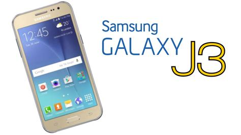 Samsung J3 J4 J5 New Samsung Galaxy J3 Specs Features Downgraded