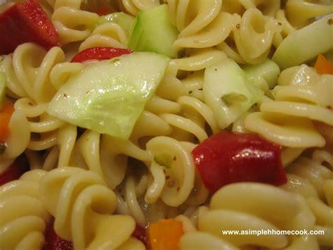 simple pasta salad simple pasta salad
