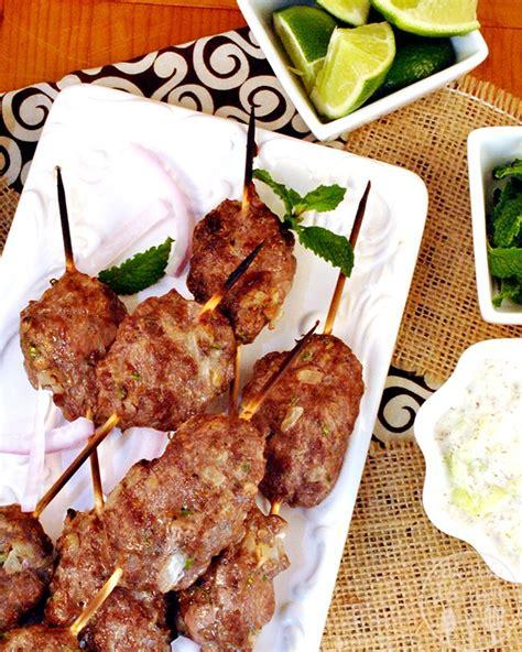 lamb kebabs middle eastern lamb kebabs recipe dishmaps