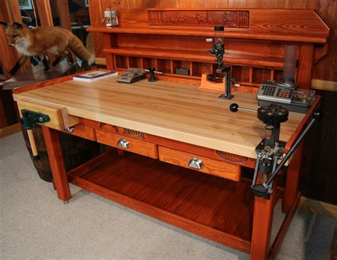gun reloading bench reload reloading bench american work bench made in usa man room ideas