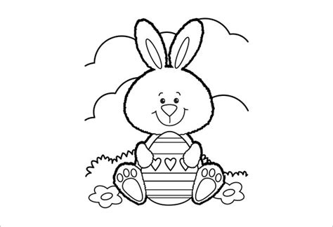 easter bunny coloring pages pdf 21 easter coloring pages free printable word pdf png