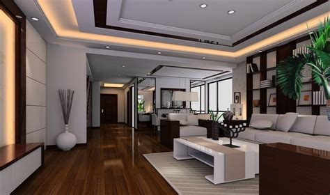 3d interior home design drawing hall interior decoration wallpaper free download