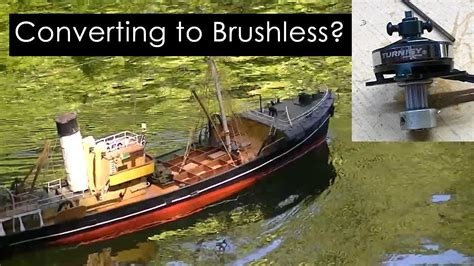 brushless motors for model boats brushless motors and scale rc boats youtube