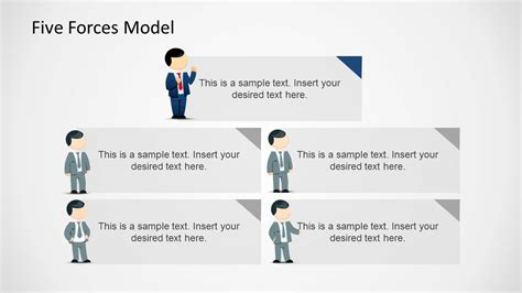 5 Forces Model Template For Powerpoint Slidemodel 5 Forces Model Template