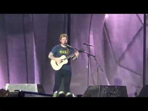 ed sheeran zurich concert shape of you ed sheeran live in zurich divide tour 19