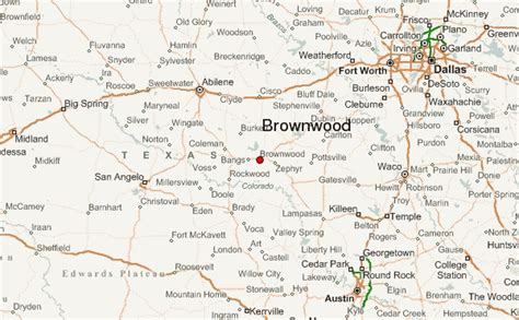 brownwood texas map picture suggestion for brownwood