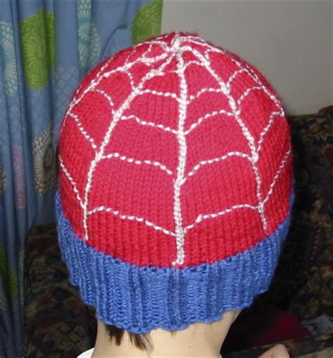 knitting pattern for spiderman jumper spiderman hat knitting