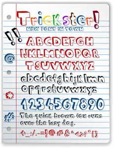 16 doodle fonts free ttf otf format download free
