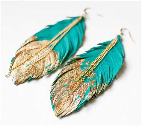 how to make feather jewelry 25 diy feather jewelry design diy to make