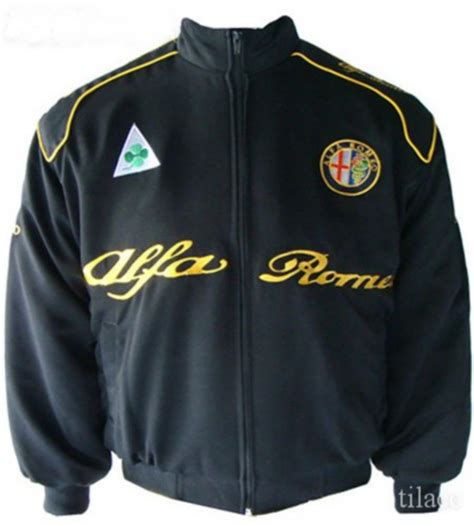 Alfa Romeo Jacket by Jacket Alfa Romeo Racing Team Black Bangkok International