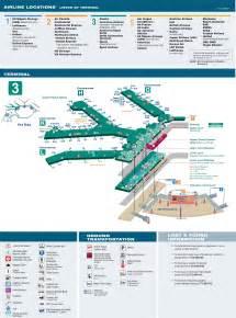 Car Rental Ord O Hare Airport Terminal 3 Map
