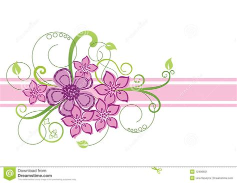 para design floral border design stock image image 12496651